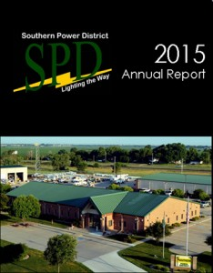Image and link to 2015 Annual Report for Southern Public Power District