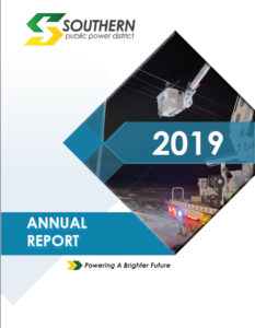 Image and link to 2019 Annual Report for Southern Public Power District