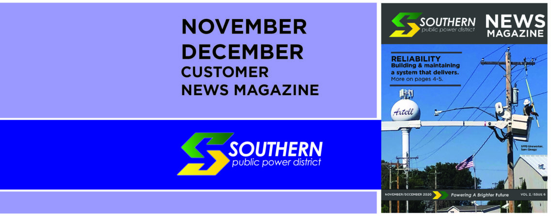 November/December Customer News Magazine