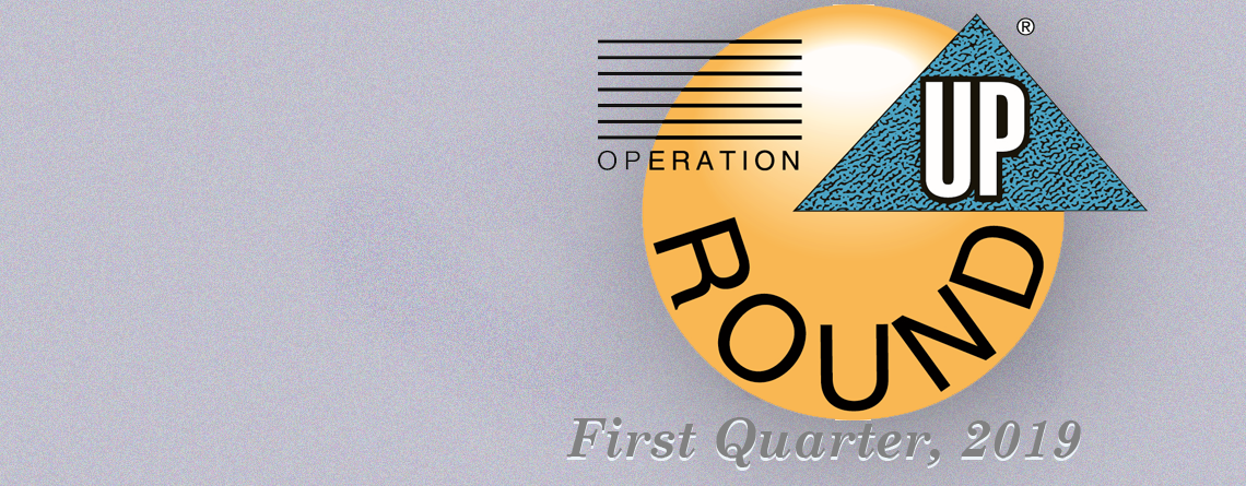 Operation ROUND UP Grants Awarded for First Quarter, 2019, Totaling $19,830